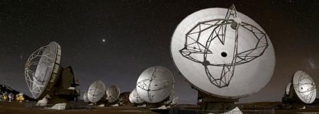 12-метровые радиотелескопы ALMA