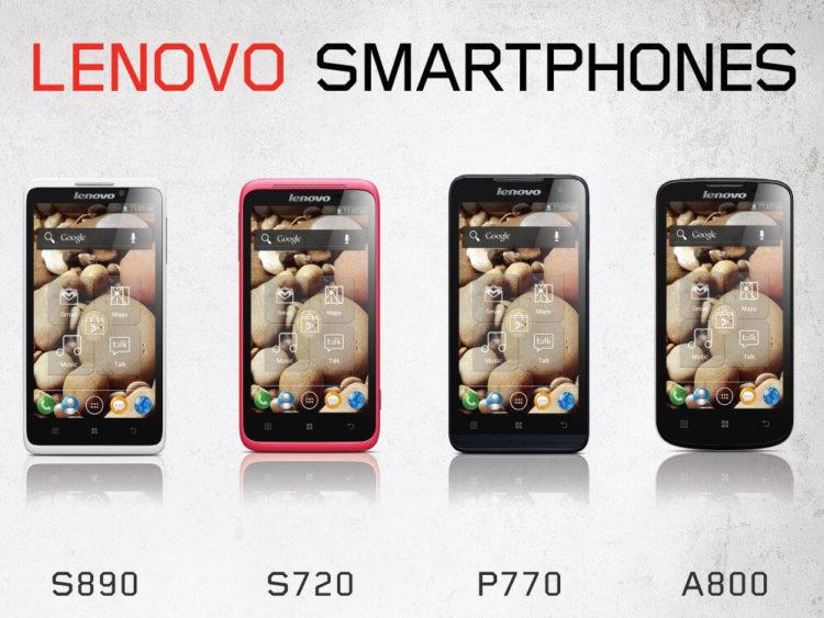 Android-смартфоны Lenovo