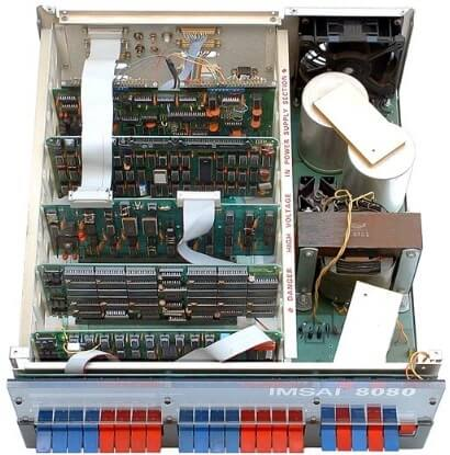 IMSAI 8080 изнутри