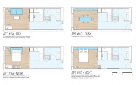 My Micro NY - план квартиры