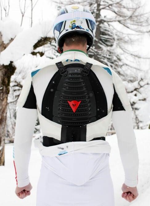 Подушка безопасности для лыжников