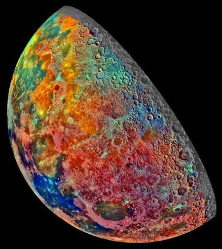 Луна в цветах