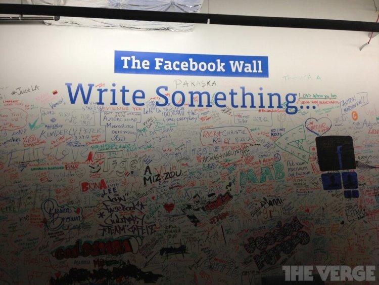 Стена Facebook