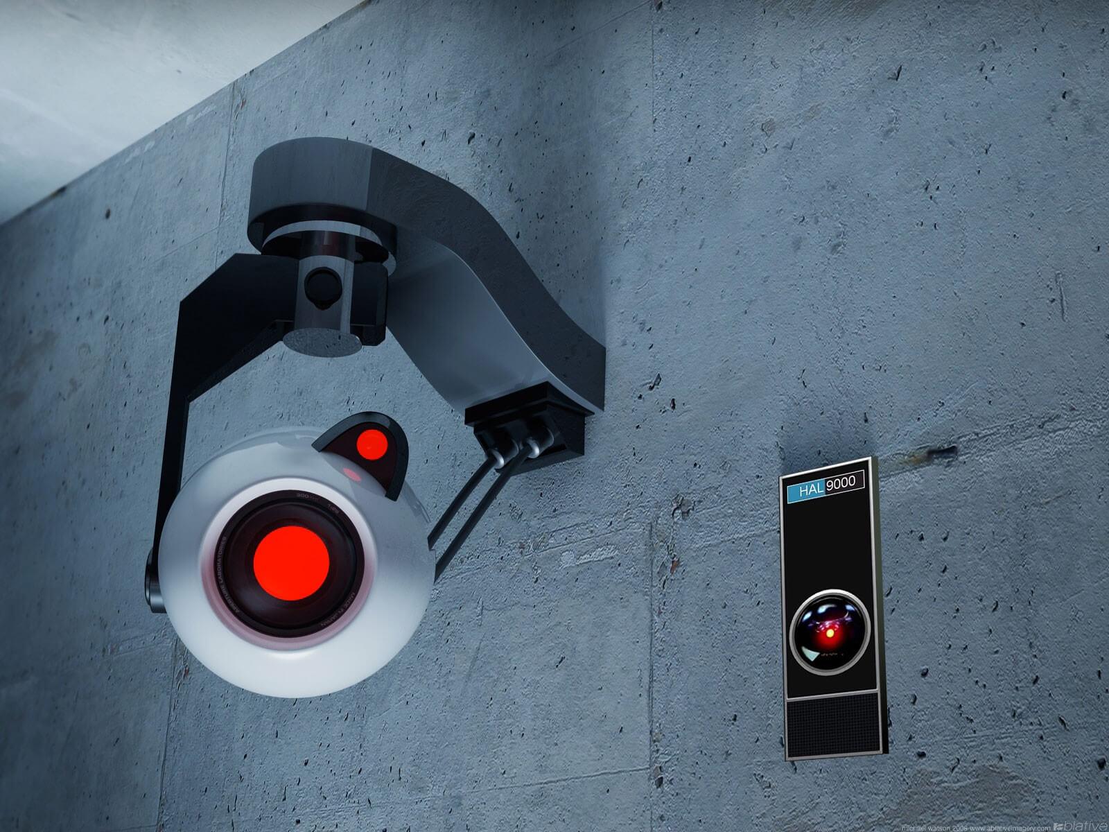 слежка за человеком