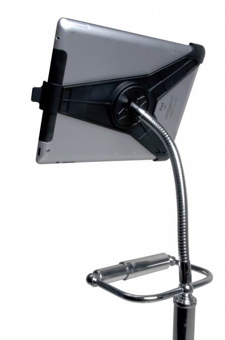 Держатель для iPad - вид сзади