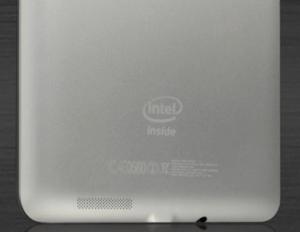 Задняя панель Asus FonePad