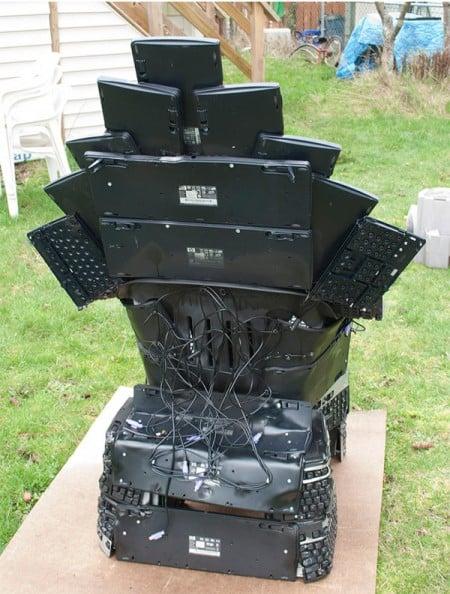 Клавиатурный трон (2)