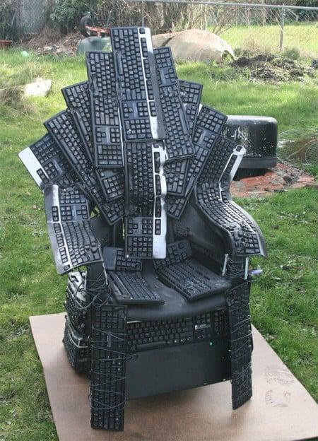 Клавиатурный трон