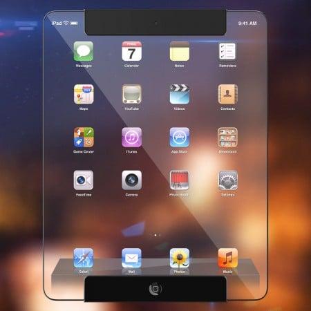 Прозрачный iPad