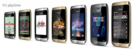 Телефон Nokia Asha 310 (2)