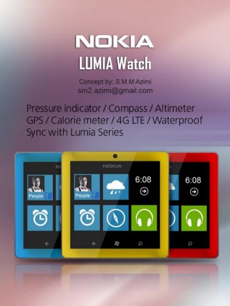 Часы Nokia Lumia