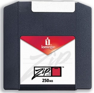 Диск Zip на 250 Мб