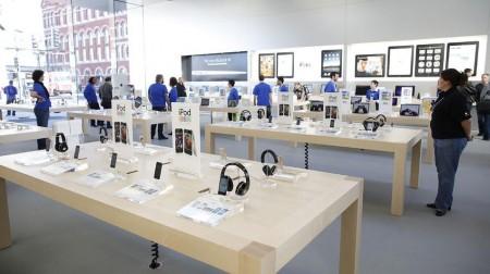Apple головного мозга: под патенты подпадают даже магазины