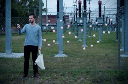 Устройство для поиска электричества.