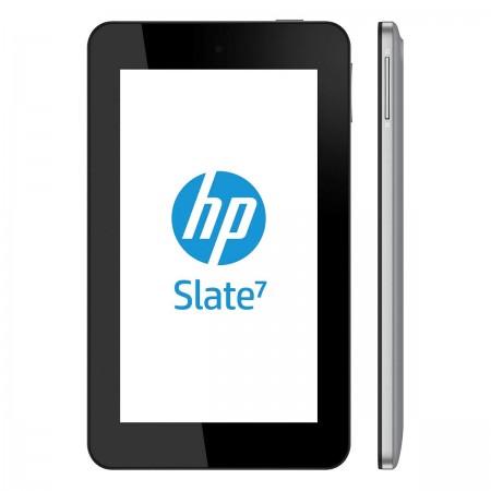HP Slate 7 - вид спереди и сбоку