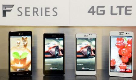 LG Optimus F5 и F7