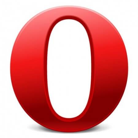 Opera лого
