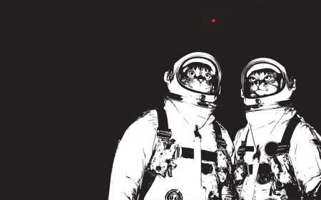 Коты в космосе