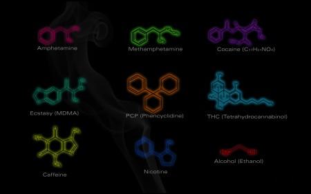 Химические формулы наркотиков