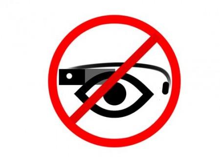 Запрет на ношение Google Glass