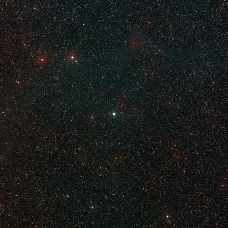 Небо вокруг HD 100546