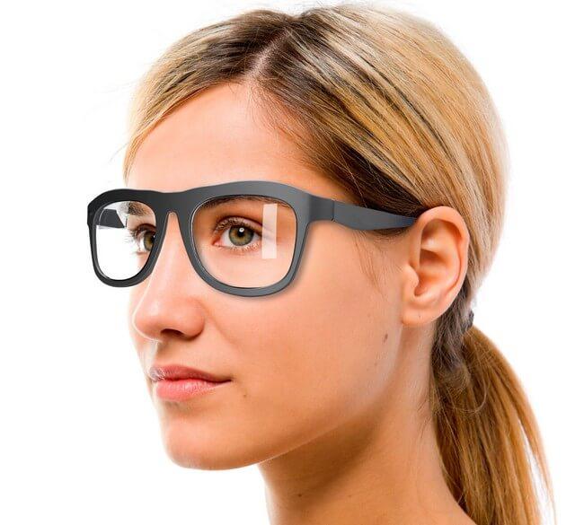 Очки Google Glass, разработанные Warbey Parker