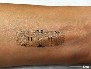Печать электроники на кожу