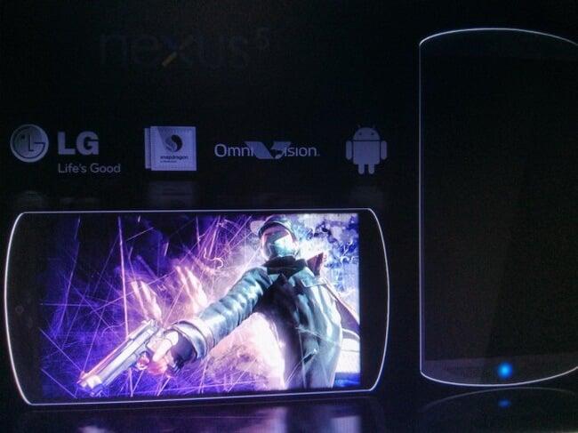 Прототип LG Nexus 5