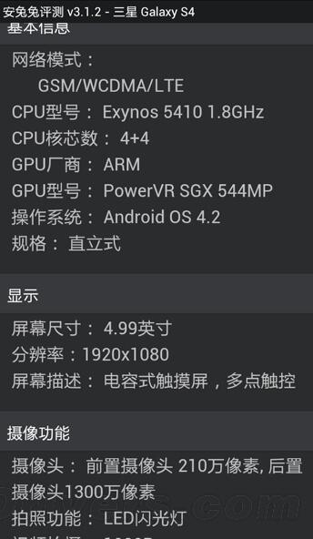 Результаты тестирования Samsung Galaxy SIV (4)