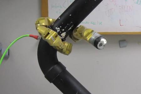 Роботизированная змея-циклоп