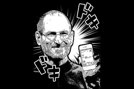 Стив Джобс - герой манги