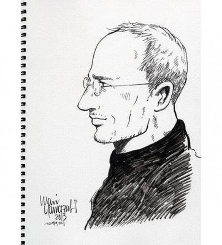 Стив Джобс глазами Мари Ямадзаки