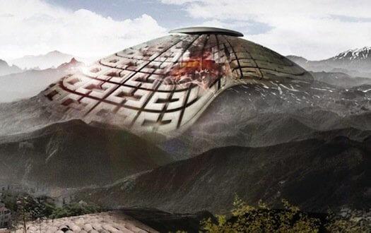 Вулканический небоскреб