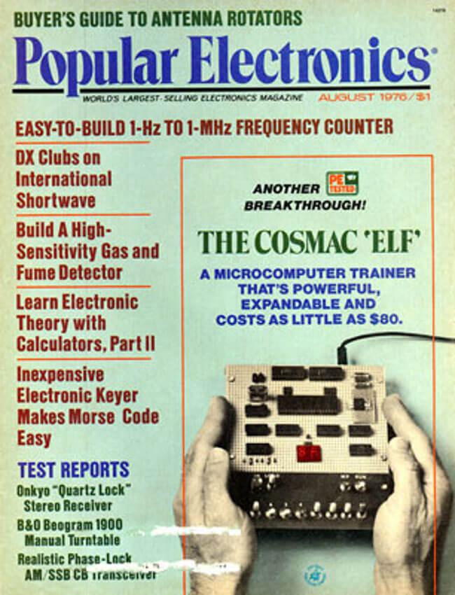 Первый ELF в 1976 в прессе