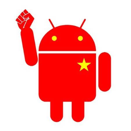Android китайский