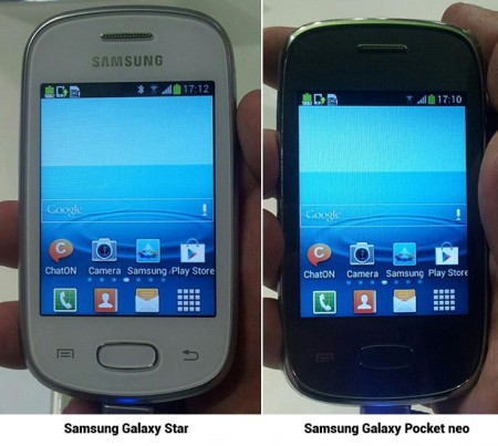 Galaxy Star и Galaxy Pocket Neo