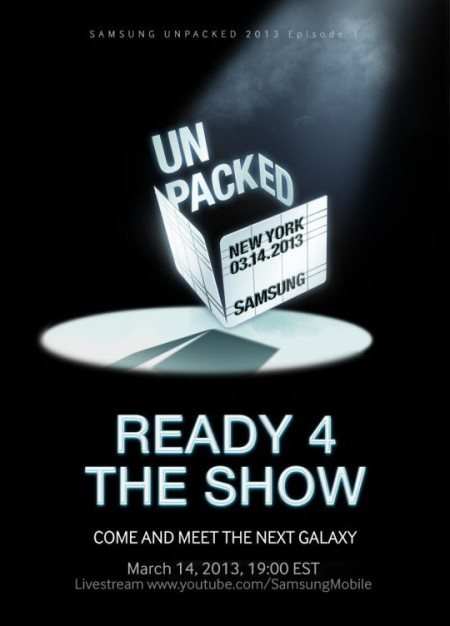 Samsung Unpacked Galaxy S IV