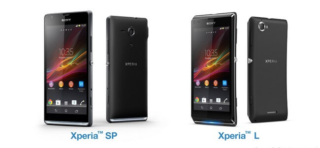 Sony Xperia L и SP