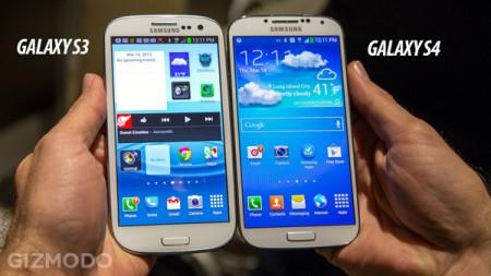 Galaxy S4 и Galaxy S3