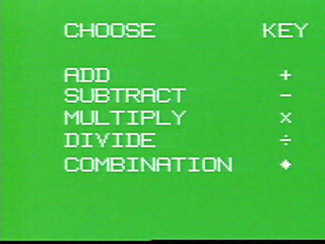 VideoBrain программа Math Tutor 1