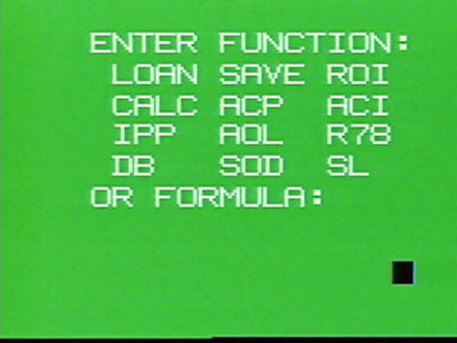 VideoBrain программа Financier