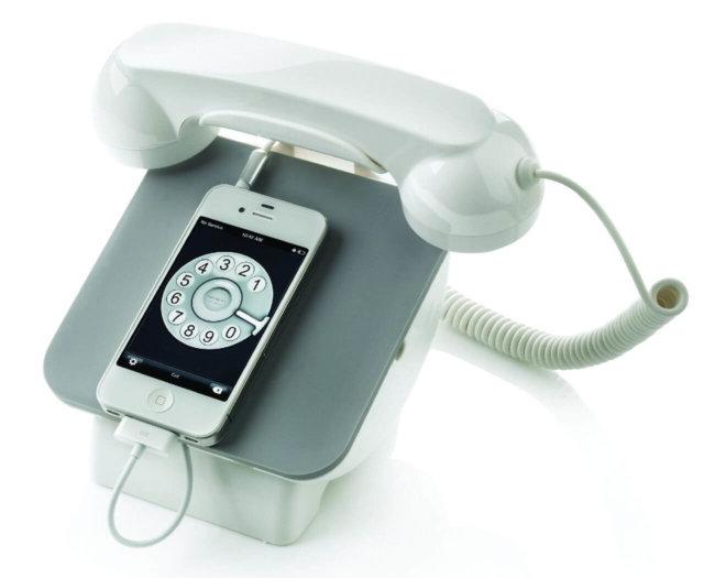 iPhone в стиле ретро