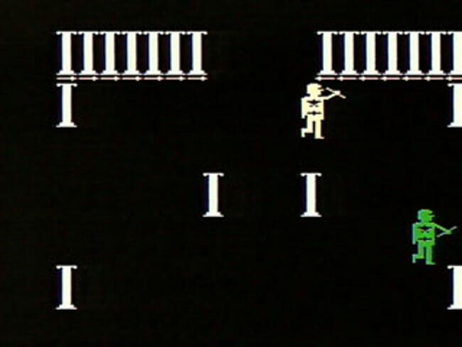VideoBrain игра Gladiator