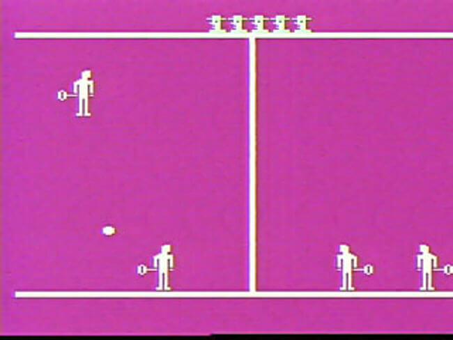 VideoBrain игра Tennis