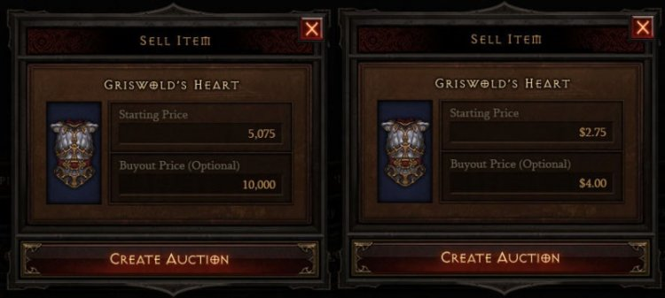 Аукцион в Diablo 3