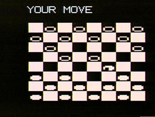 VideoBrain игра Checkers