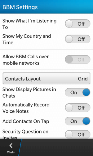BBM-Privacy