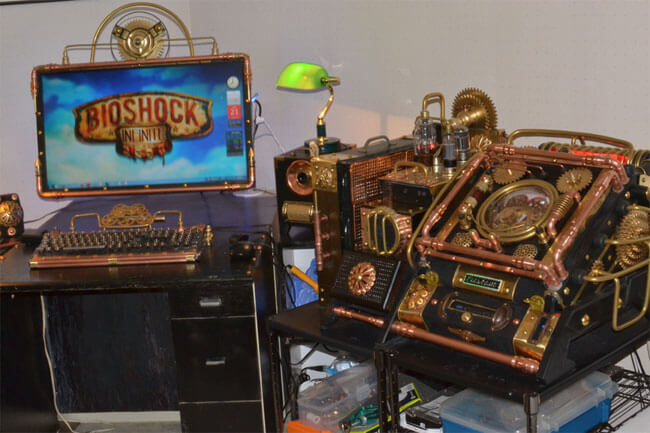 Steampunk-PC