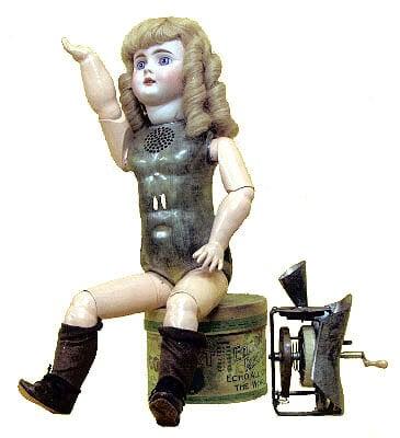 Первая говорящая кукла Эдисона