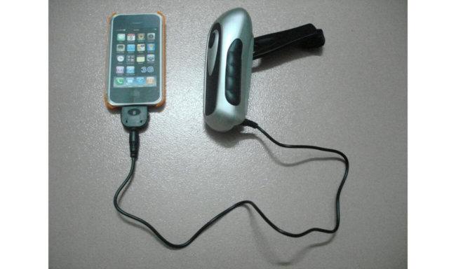 Ручное зарядное устройство для телефона